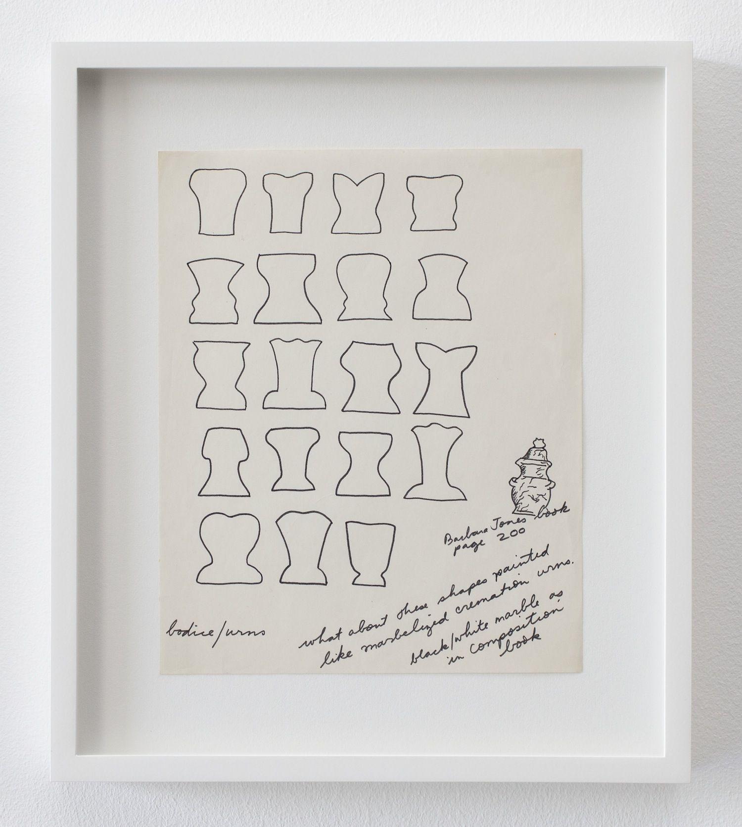 Christina Ramberg,, Untitled (Bodice/Urns), N.D.