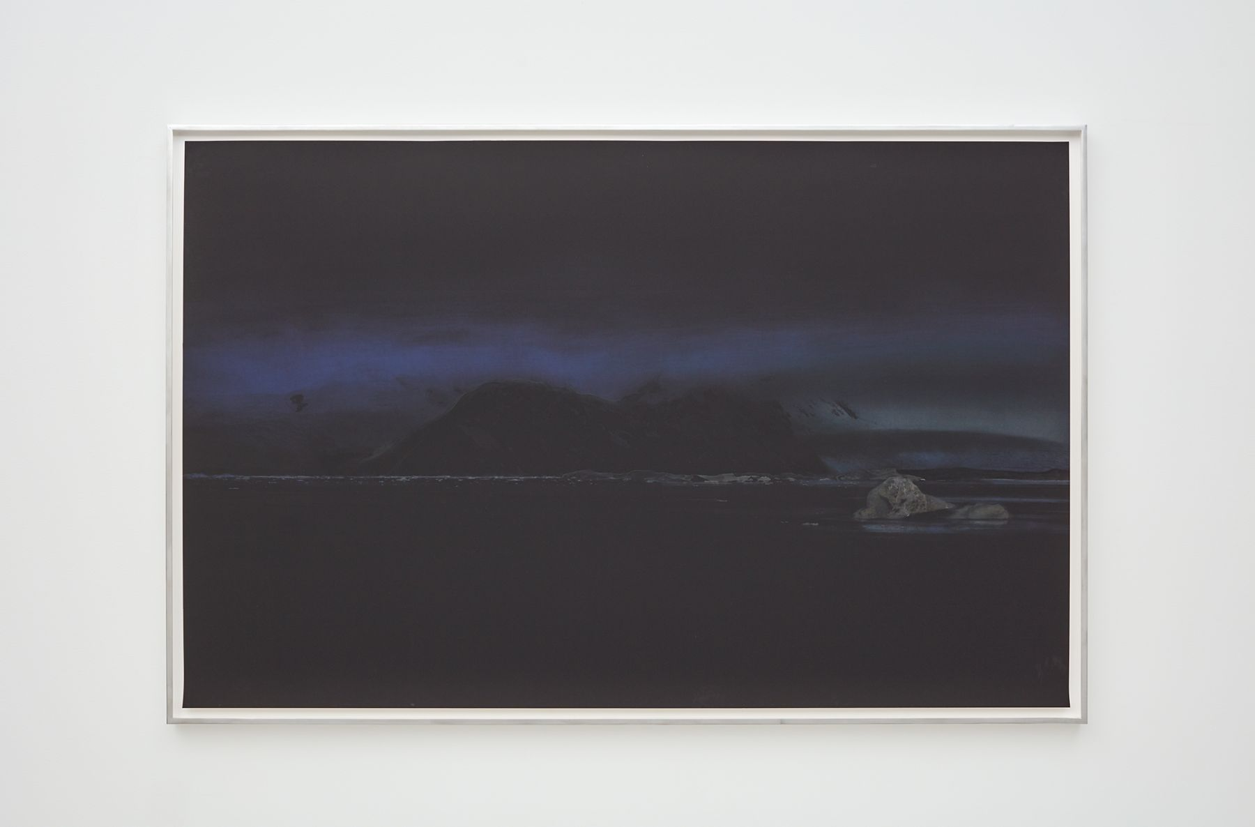Liza Ryan, Blue/Black, 2015