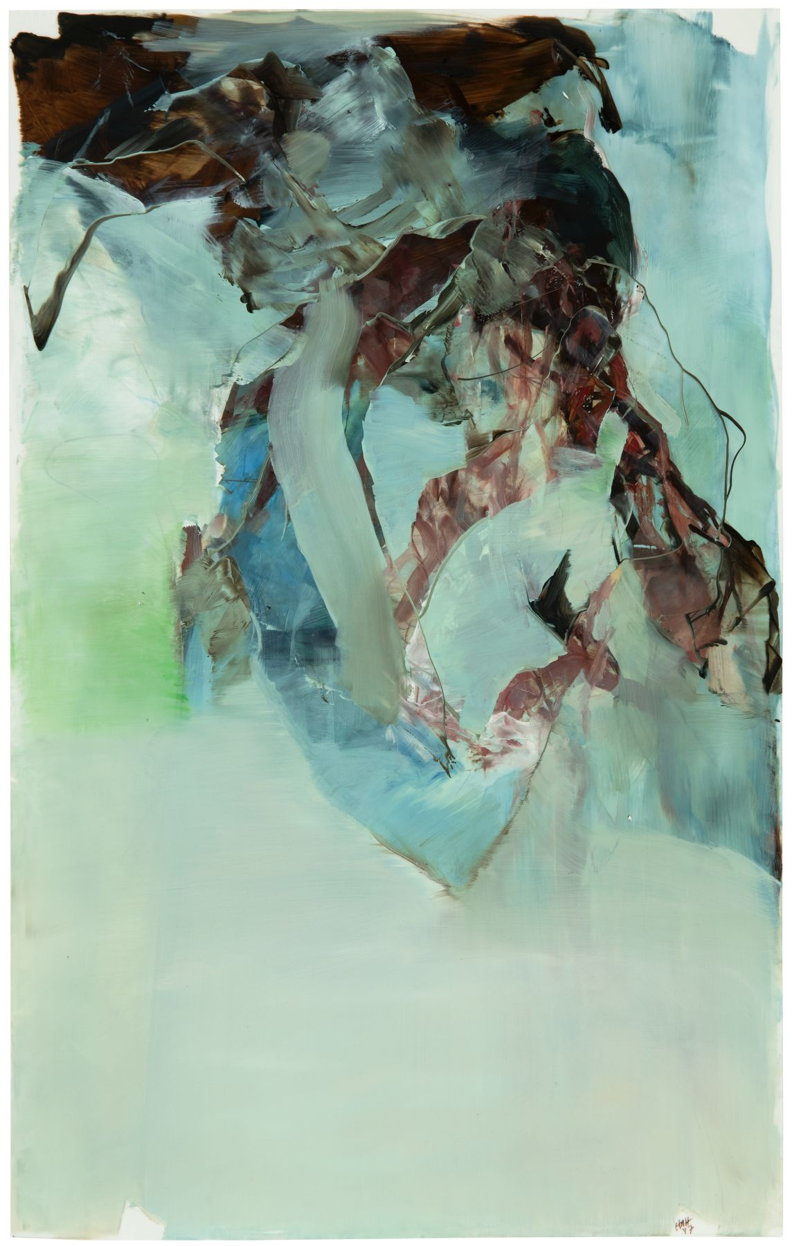Hollis Heichemer (b. 1963) where the under and over meet I #1, 2017
