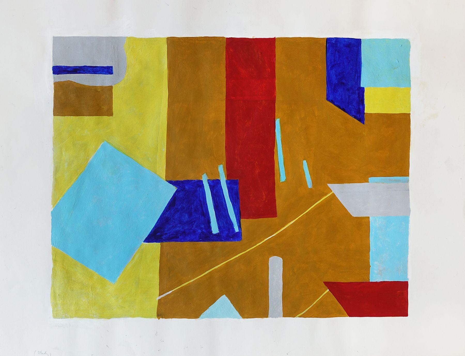George Vranesh (1926-2014) Two Boats, circa 1972