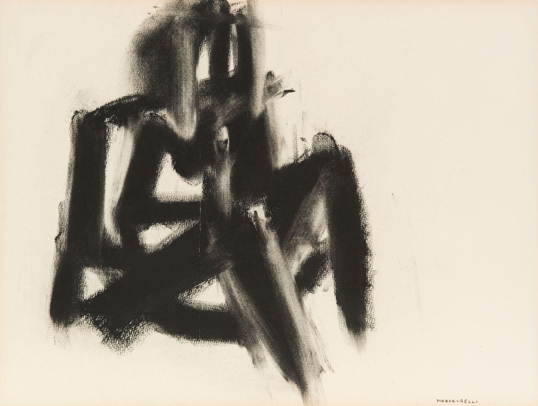 Conrad Marca-Relli (1913-2000) D-10-66, 1966