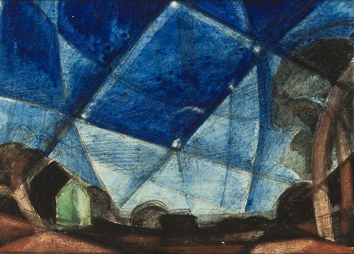 Oscar Bluemner - Orion, 1936