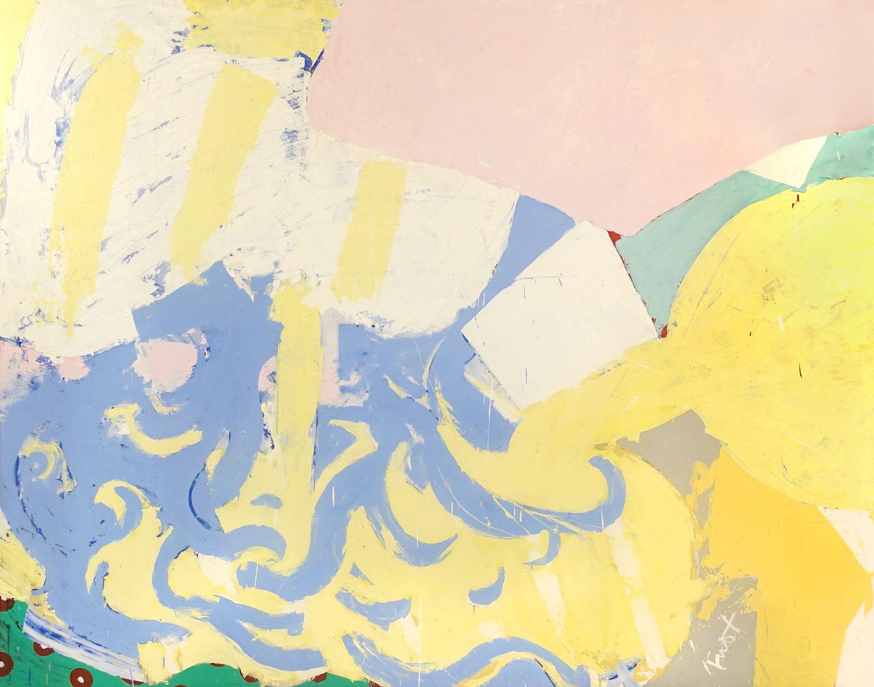 Knox Martin (b. 1923) Garden of Time, 1976