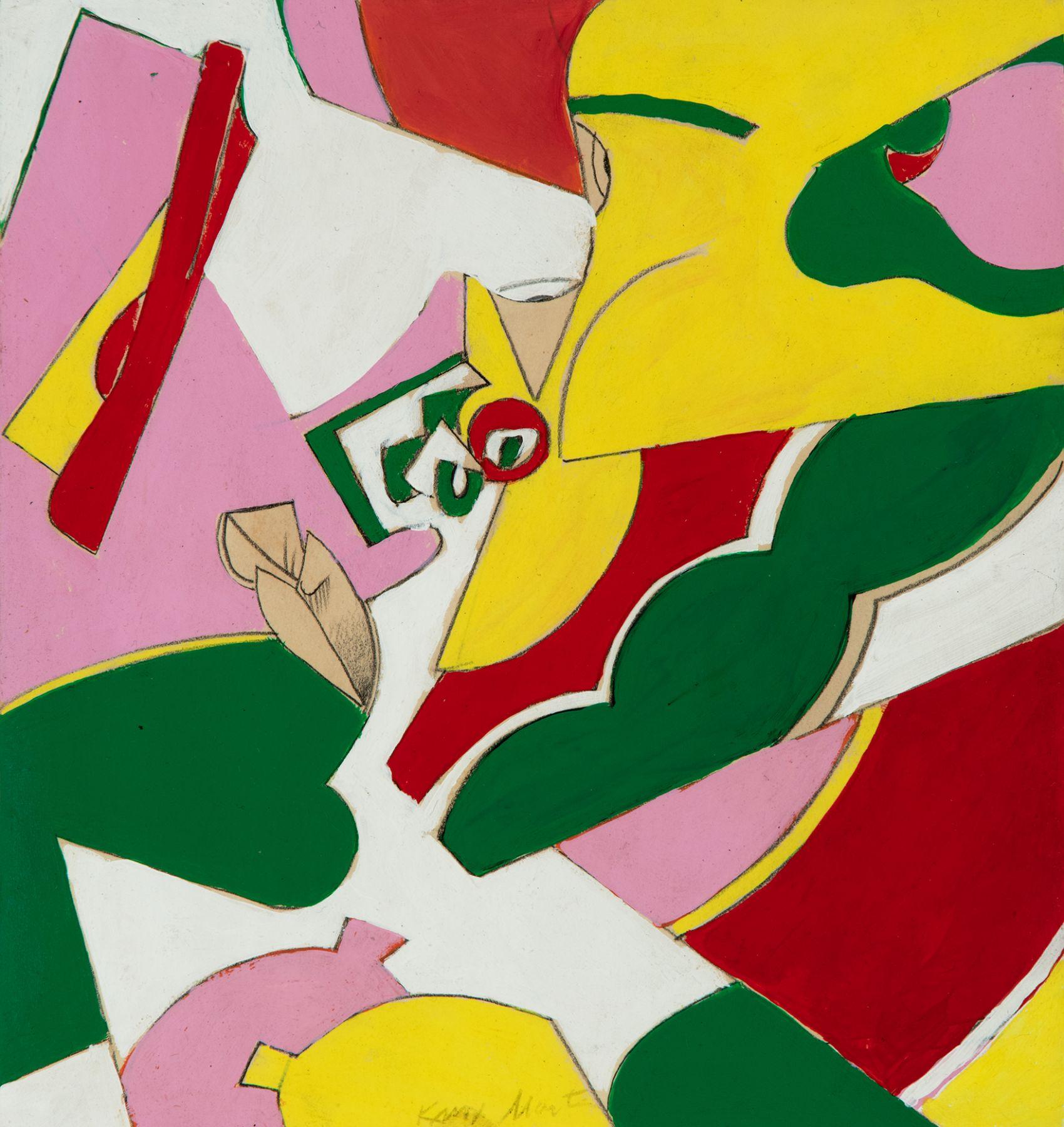 Knox Martin (b. 1923) Untitled, circa 1975