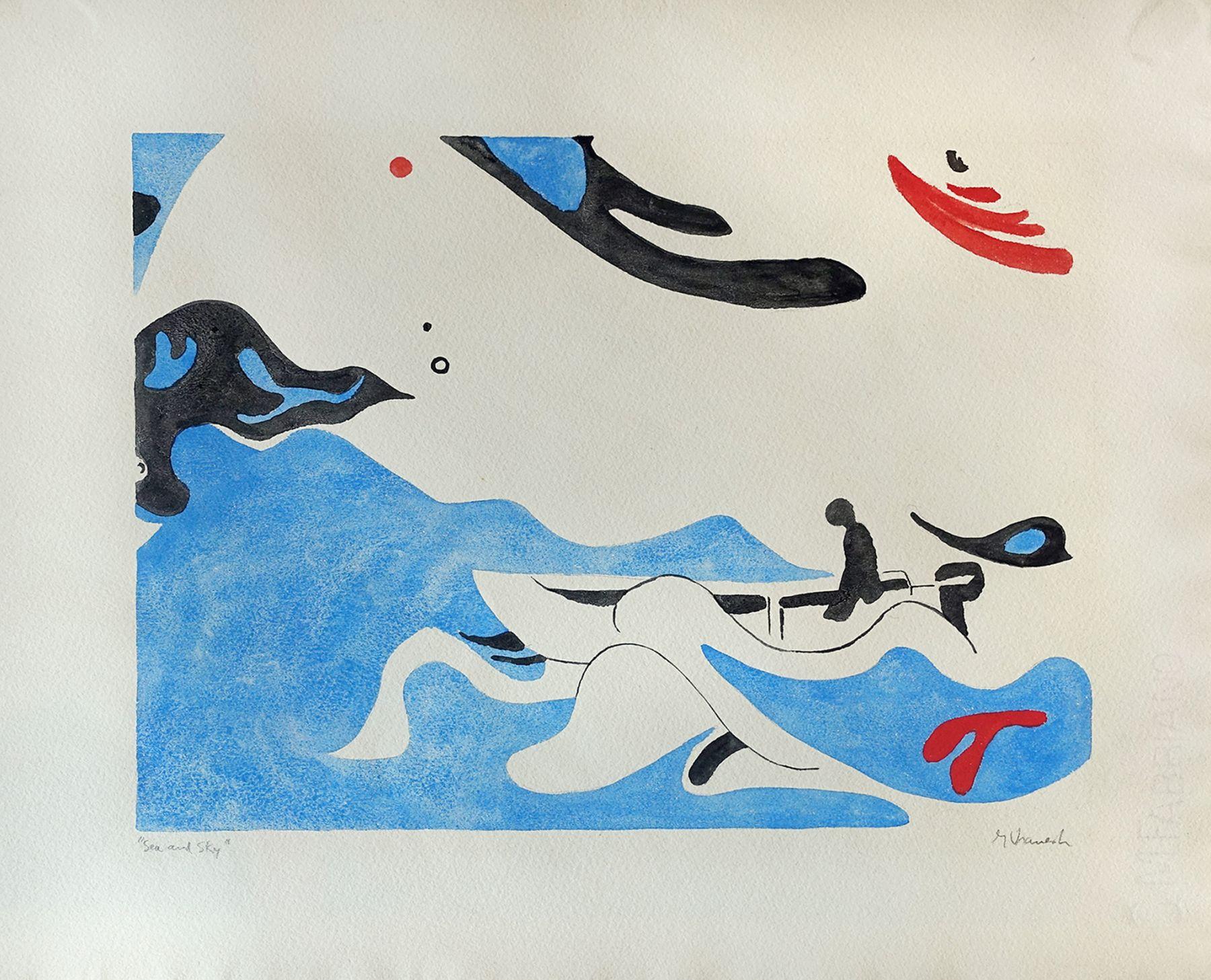 George Vranesh (1926-2014) Sea and Sky, 1965