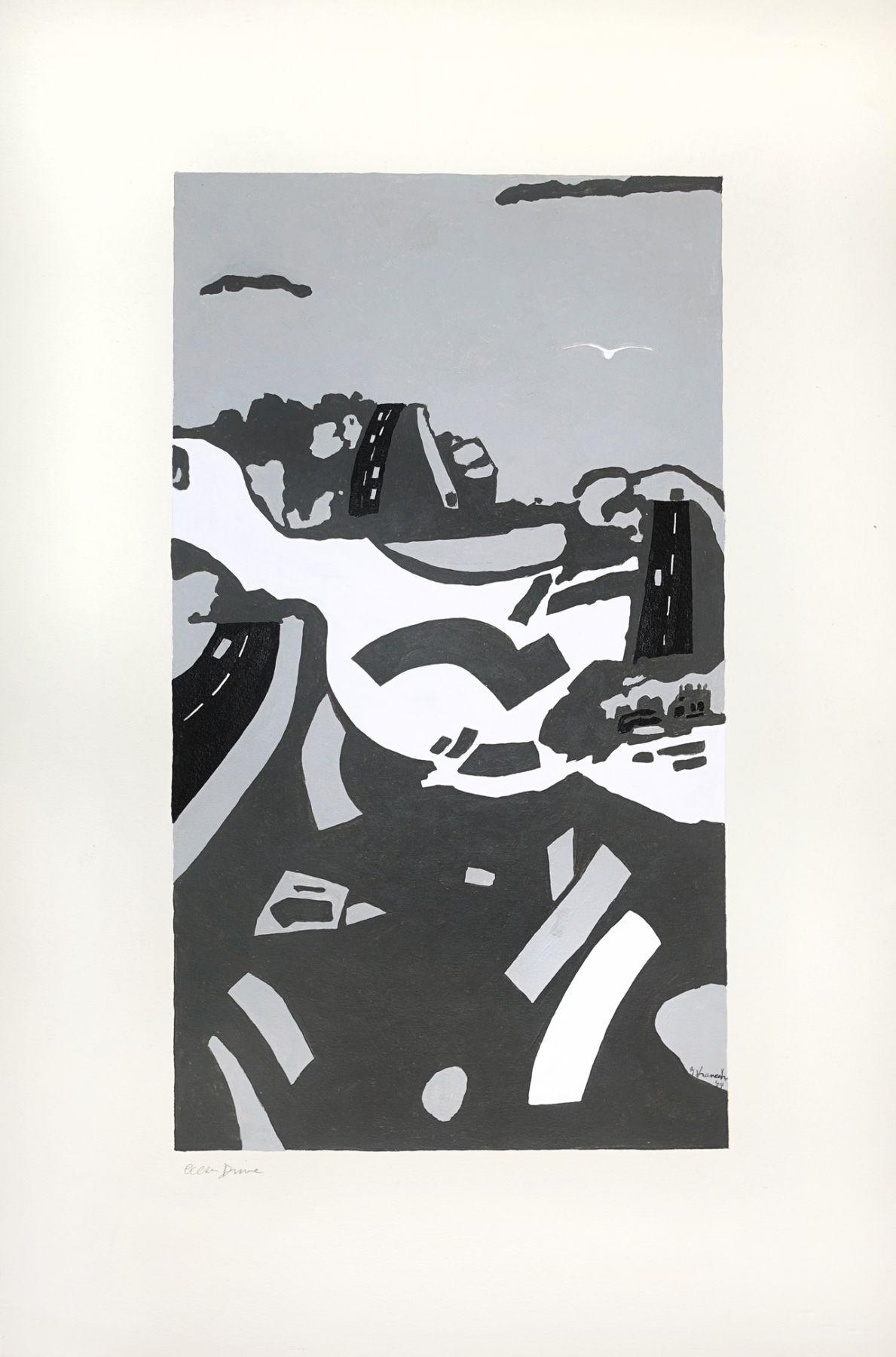 George Vranesh (1926-2014) Ocean Drive, 2004