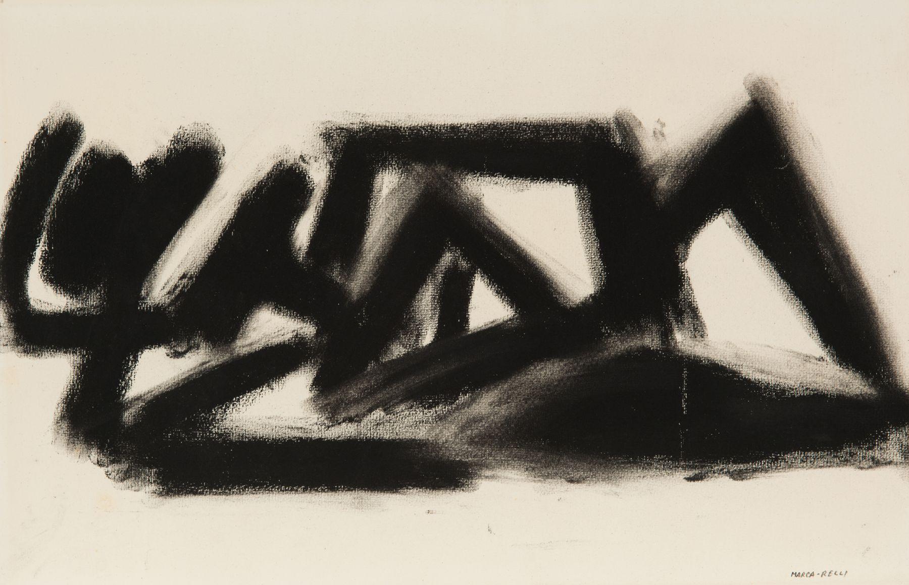 Conrad Marca-Relli (1913-2000) D-3-66, 1966