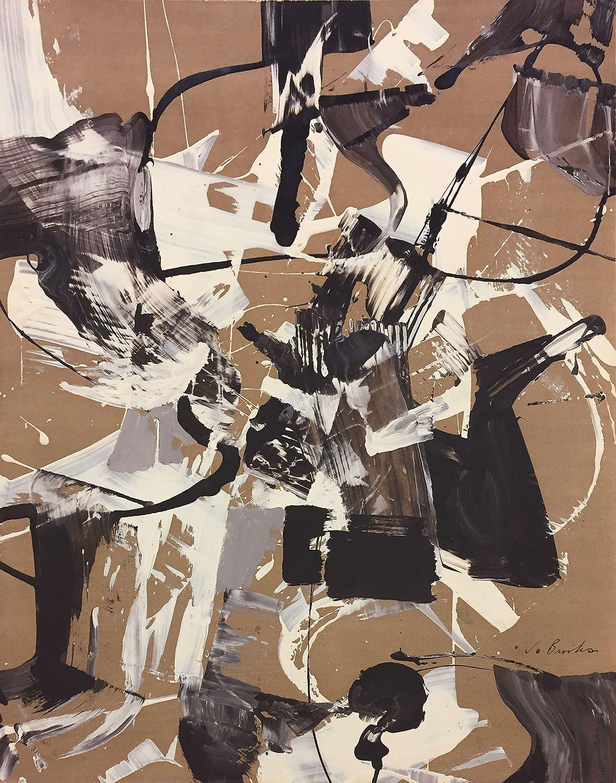 James Brooks (1906-1992) Untitled, 1952