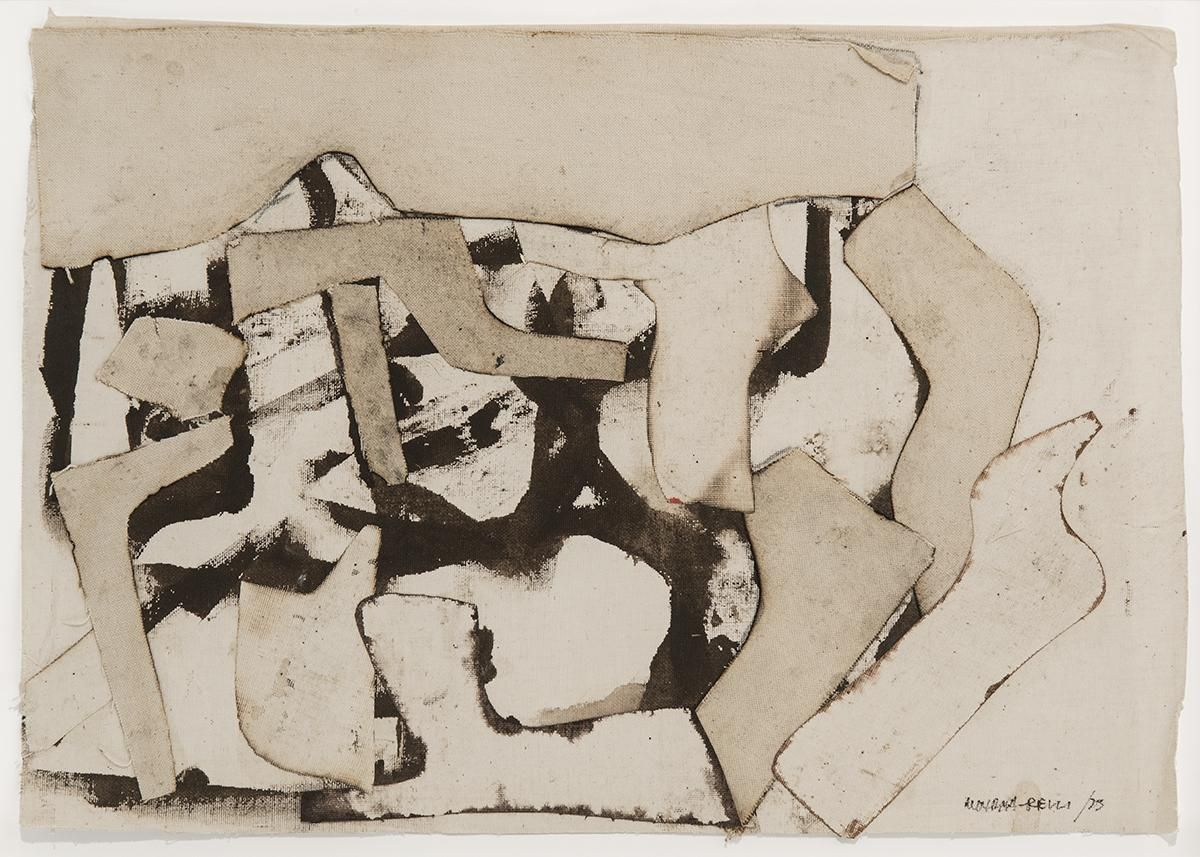 Conrad Marca-Relli - Untitled, 1973