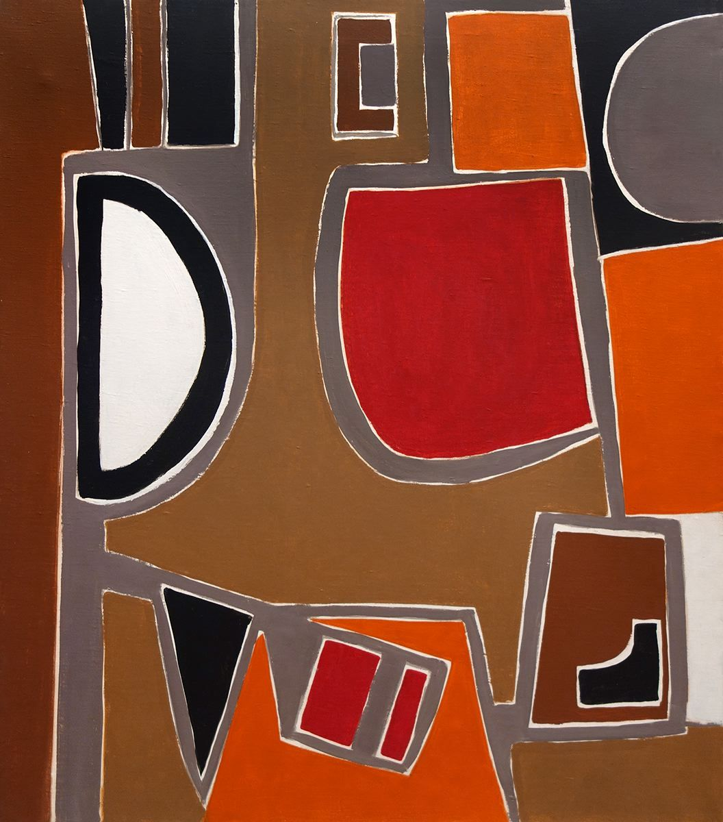 George Vranesh (1926-2014) Seated Man, 1956