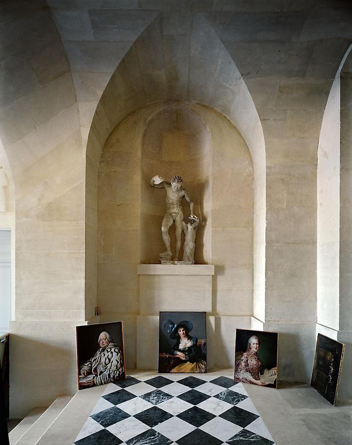 Galerie Basse, (51) CCE.01.041, Corps Central – R.d.C., Château de Versailles, France, 1986, archival inkjet print, 50 x 40 inches
