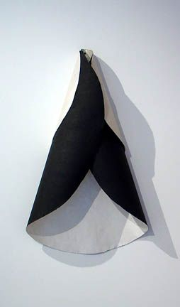 Susan Weil,  Half Moon , 1990, Acrylic on canvas, 40 x 23""