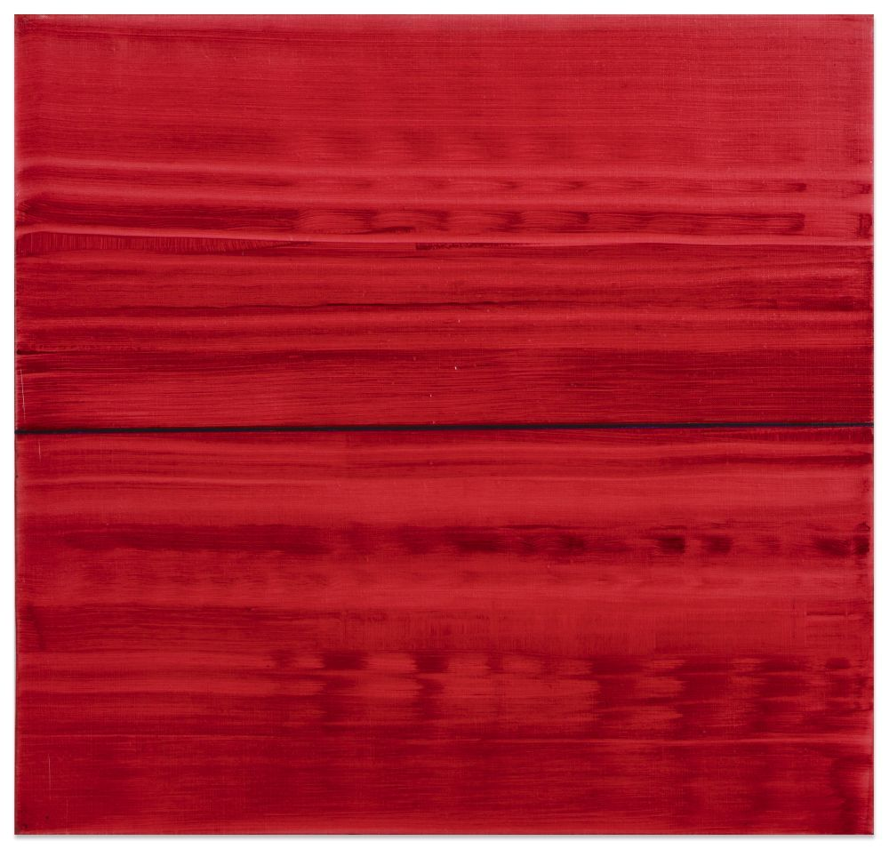 Violet Red 2, 2016, oil on linen,23 x 24 inches/58.4 x 61 cm
