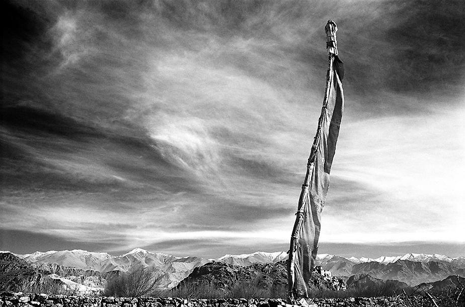 Prayer Flags #6, Ladakh, 2002