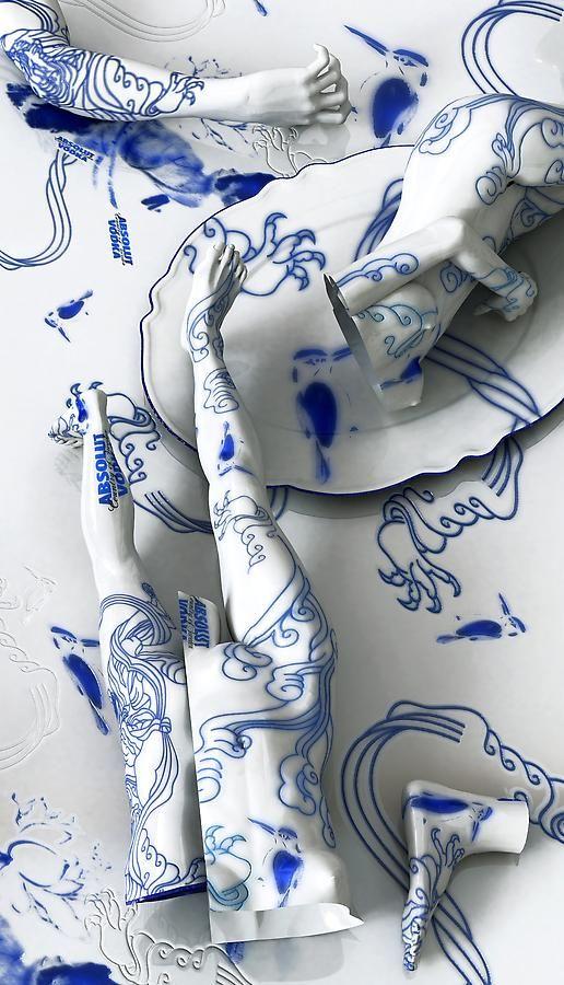Kim Joon, Absolut Vodka, 2011, Digital print, 82.7 x 47 inches