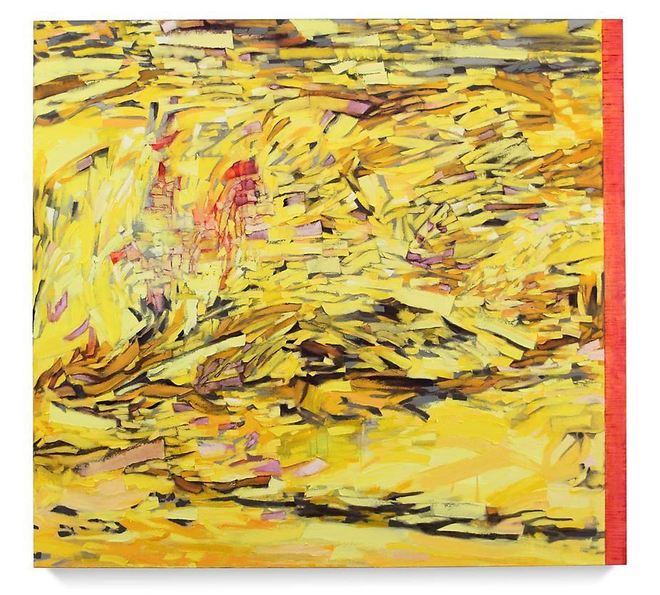 "Nomad, 2008-9 Oil on linen63 x 68"""