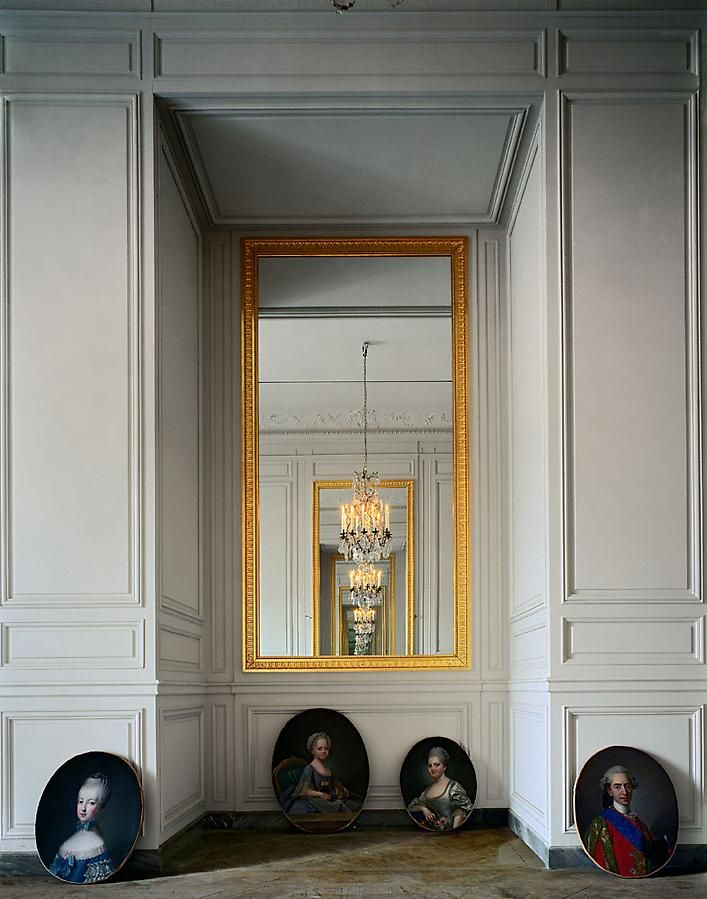 Cabinet intérieur de Madame Adélaïde, (56 C) CCE.01.058, Corps Central – R.d.C., Château de Versailles, France, 1986, archival inkjet print, 50 x 40 inches