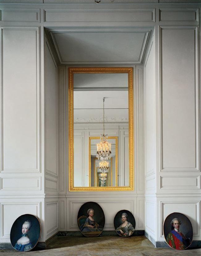 Robert Polidori, Cabinet intérieur de Madame Adélaide, (56 C) CCE.01.058, Corps Central - R.d.C, Château de Versailles, France, 1986, archival pigment inkjet print, 50 x 40 inches