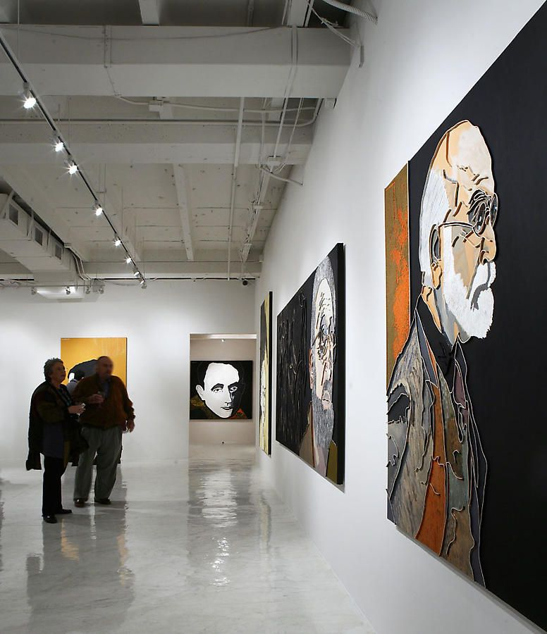 Sundaram Tagore Gallery, Beverly Hills,  Lee Waisler: The Portraits , Feb. 9 - March 8