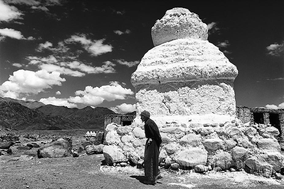 Nawang & Chorten, Ladakh, 1997