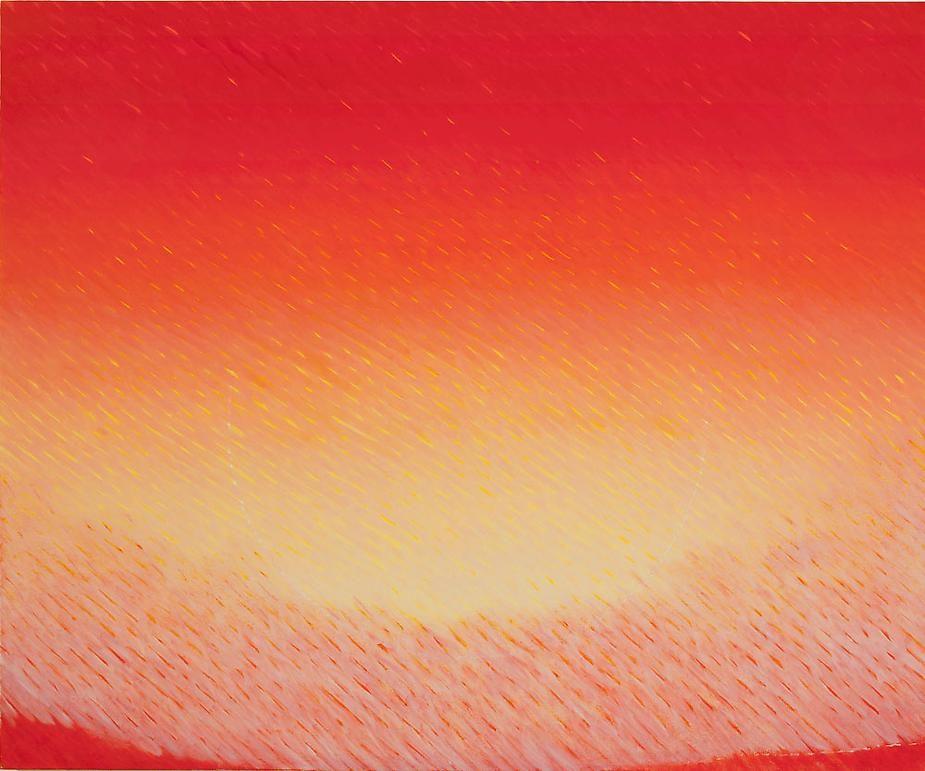 """Secret Orbit, 2007-2008, Oil on canvas, 60 x 72"""""""