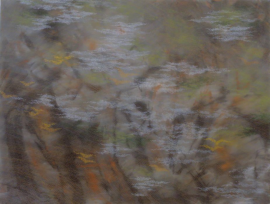 "Ho Sook Kang, Philosophy, 2008, acrylic on canvas, 48 x 63"""