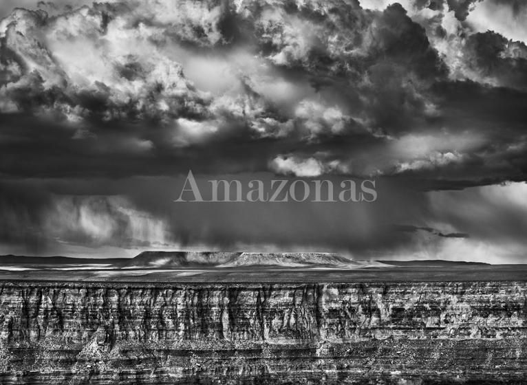 Sebastião Salgado, The Grand Canyon in Utah, viewed from National Forest, Arizona, USA, 2010, gelatin silver print, 36 x 50 inches/91.44 x 127 cm. © Sebastião Salgado/Amazonas Images