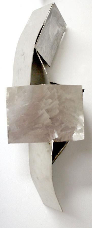"""Nathan Slate Joseph, Chi-Kee, 2010, Stainless steel, 25 x 9 x 5"""""""