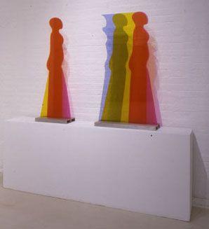 """Susan Weil,  Plexi Figure , 1967, Plexiglass, 44 x 25"""""""