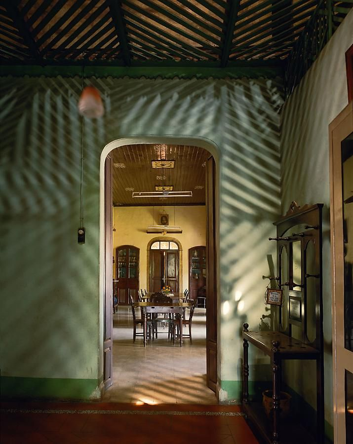 Alvares Residence,Entrance Vestibule, Margao,Goa, India, 1998, archival inkjet print, 50 x 40 inches