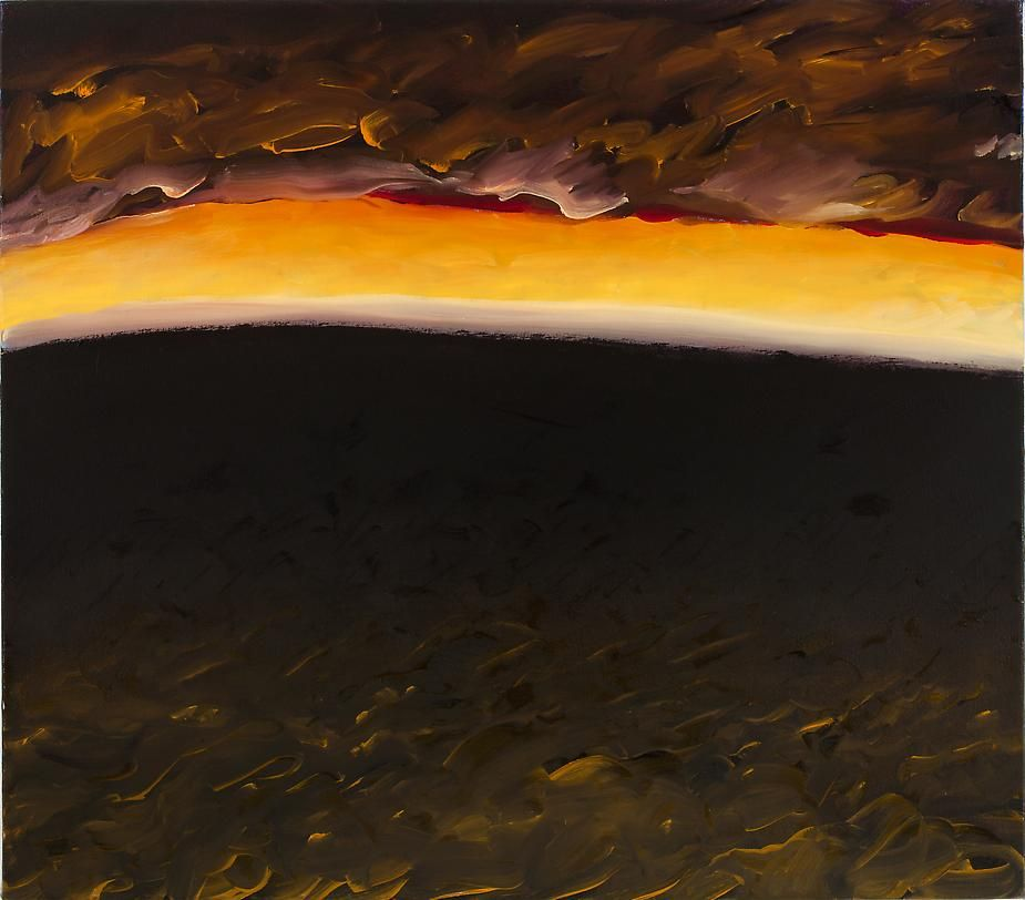 Storm Warning, 2008, Oil on canvas, 22 x 25""