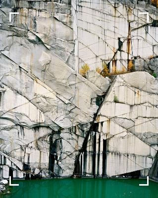 Edward Burtynsky, Rock of Ages # 4, Abandoned Section, Adam-Pirie Quarry, Barre, Vermont, 1991, chromogenic color print, 60 x 48 inches