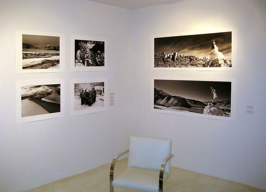 Prabir Purkayastha installation view