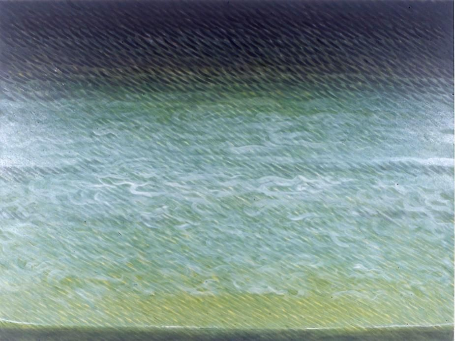 Swiftly, Lightly, 2005, Oil on canvas, 60 x 80""