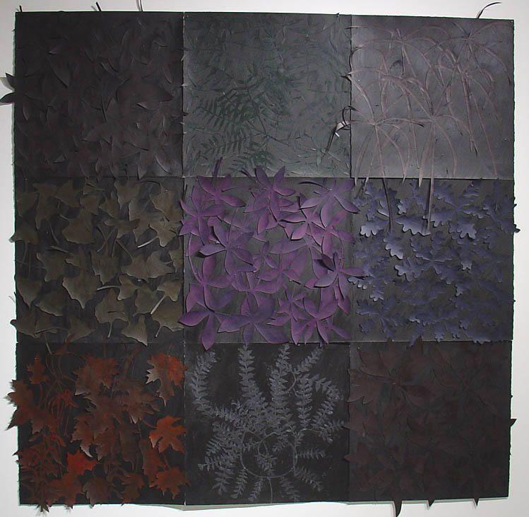 """Susan Weil,  Munich (Study) , 1988, Acrylic on paper, 67 x 67"""""""