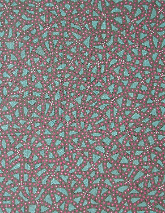 """Anil Revri, Fractal XXXV, 2007, mixed media on linen, 14 x 11"""""""
