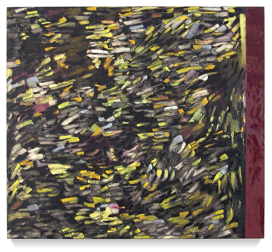 """Glimmer, 2007 Oil on linen30 x 34"""""""