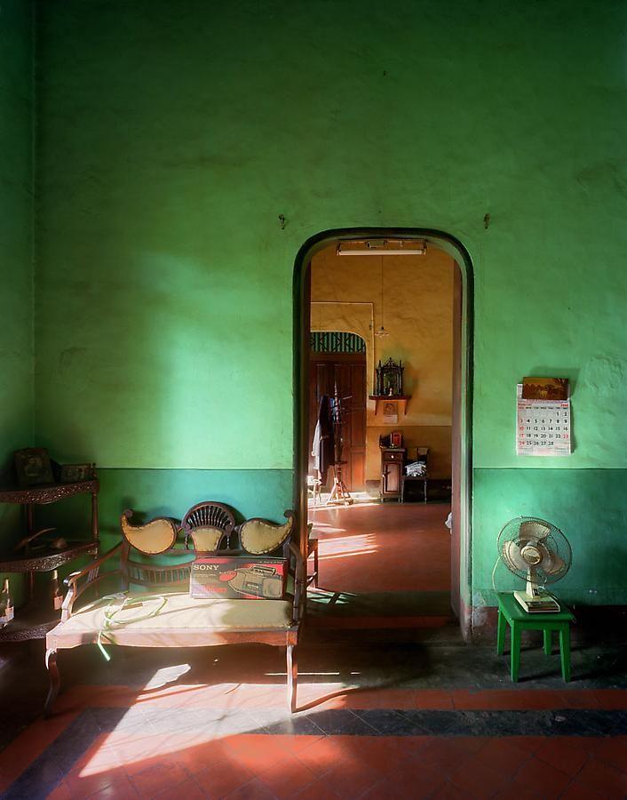 Alvares Residence, Salon, Margao, Goa, India, 1998, archival inkjet print, 50 x 40 inches