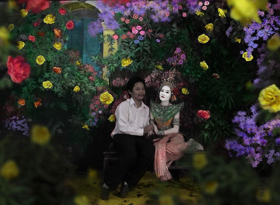 Sakarin Krue-On, The Marriage of Pra Suthon and Manorah, 2010, C-print, 23.2 x 16.9 inches