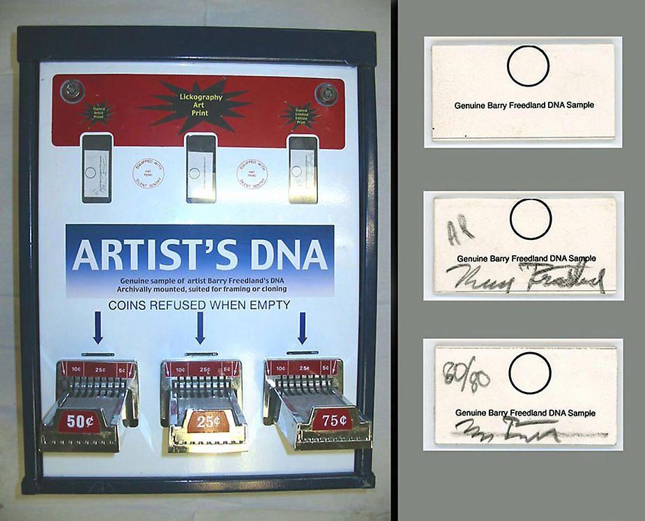 Artist DNA Vending Machine, 2004