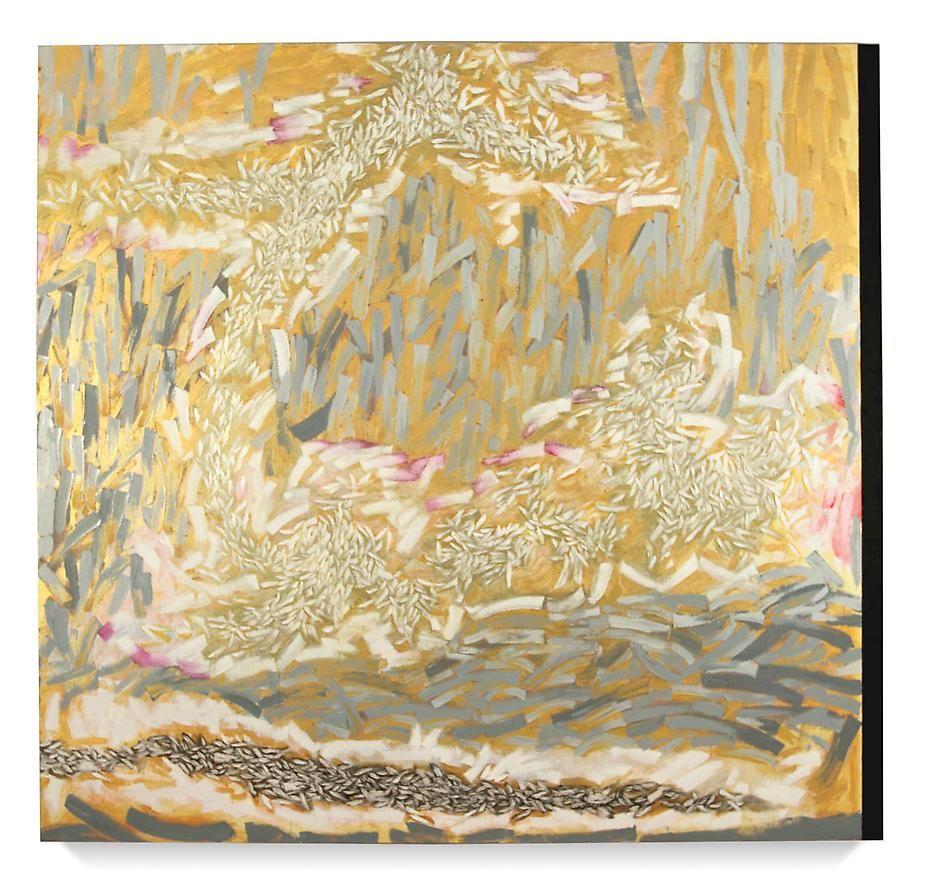 "Wilderness, 2008 Oil on linen72 x 76"""