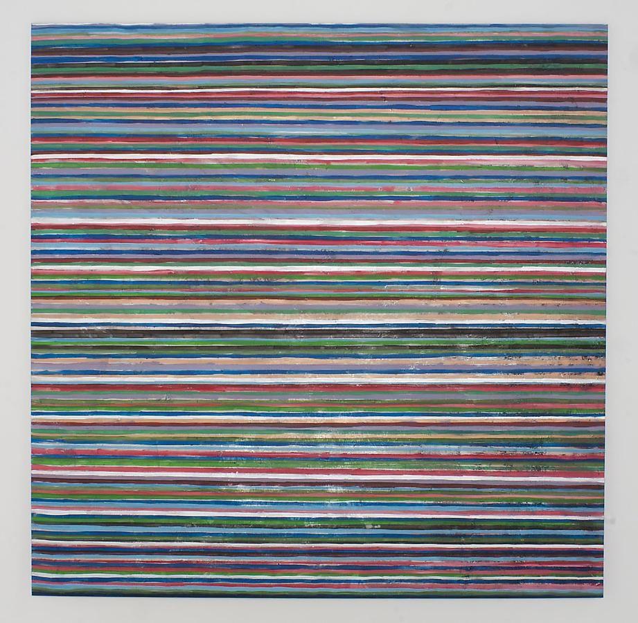 Angkrit Ajchariyasophon, 2011187, 2011, acrylic on canvas, 78.7 x 78.7 inches