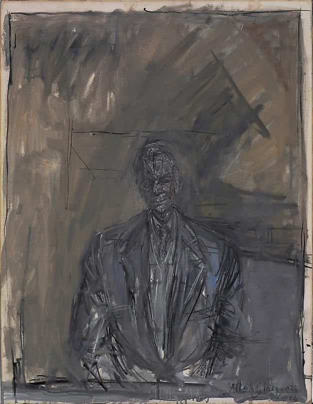 Portrait of G. David Thompson, 1955