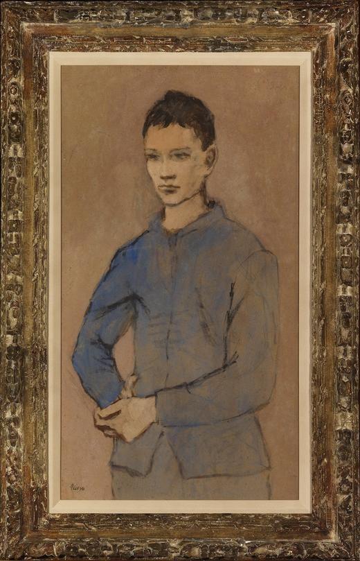 Jeune Garçon en Bleu, 1905