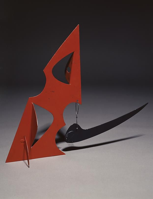 Personnage, 1945 Painted metal