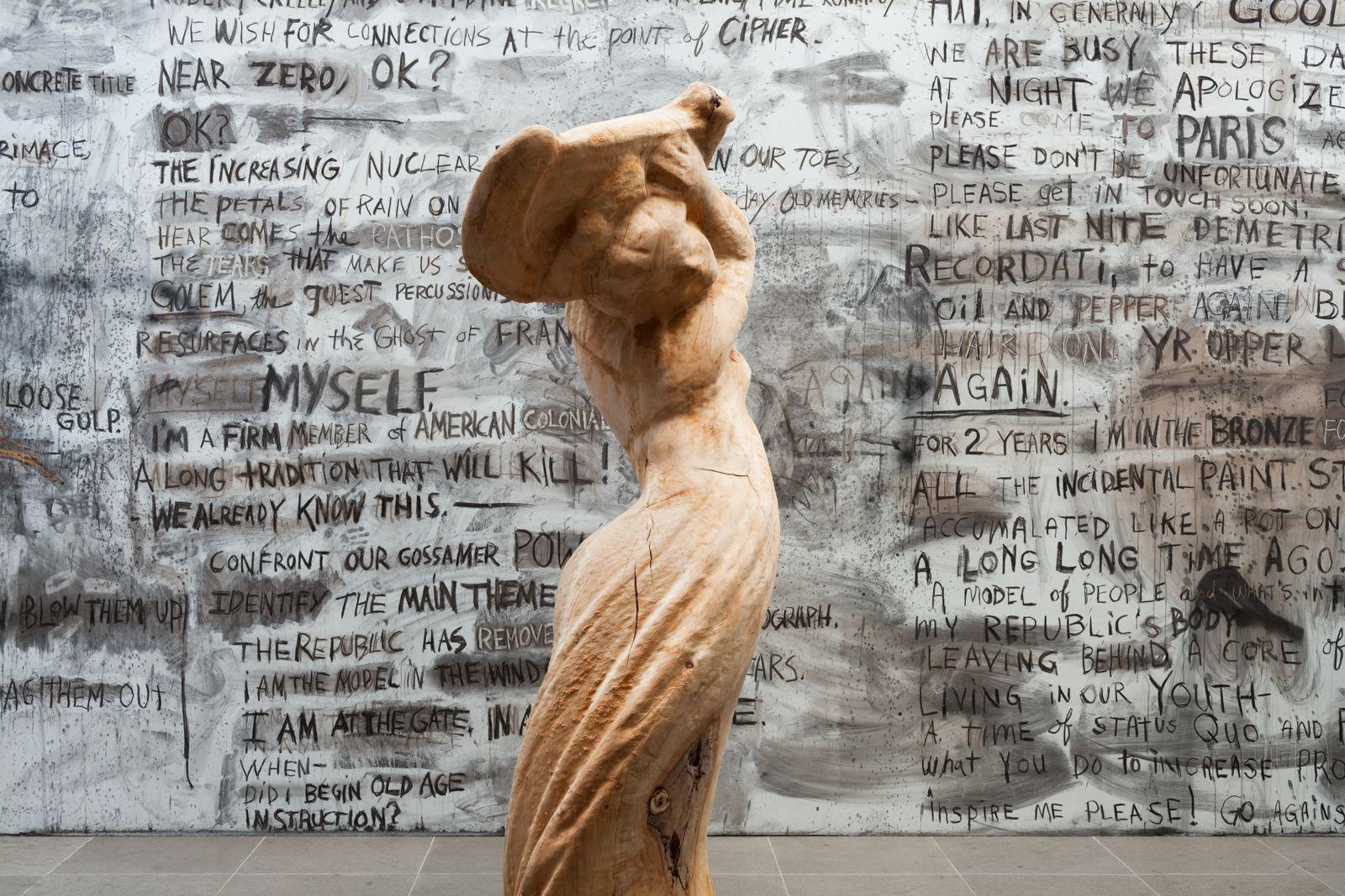jim dine antikenmuseum installation 2016 muscle and salt