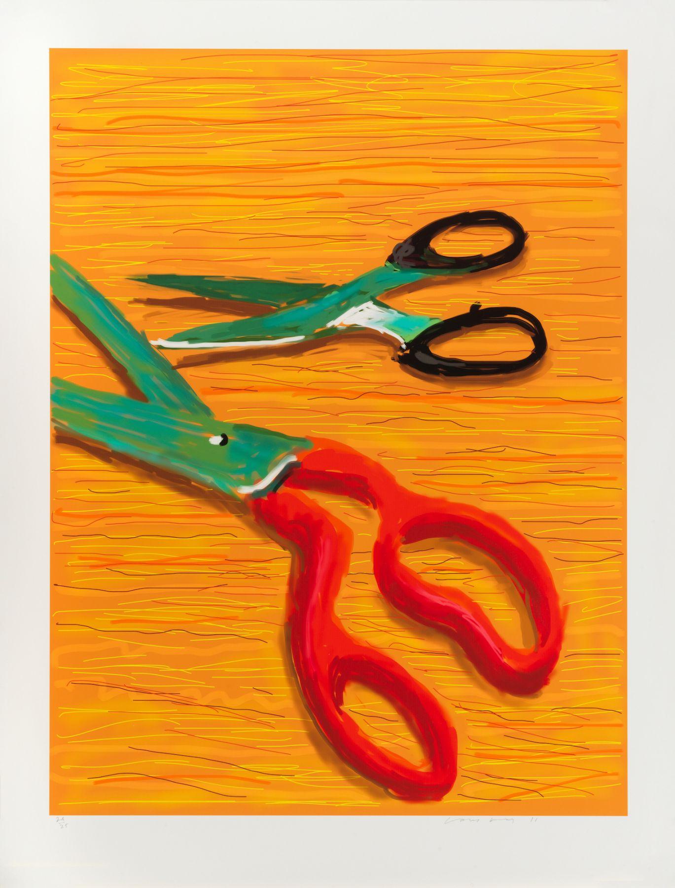 Hockney, Double Portrait, 2011