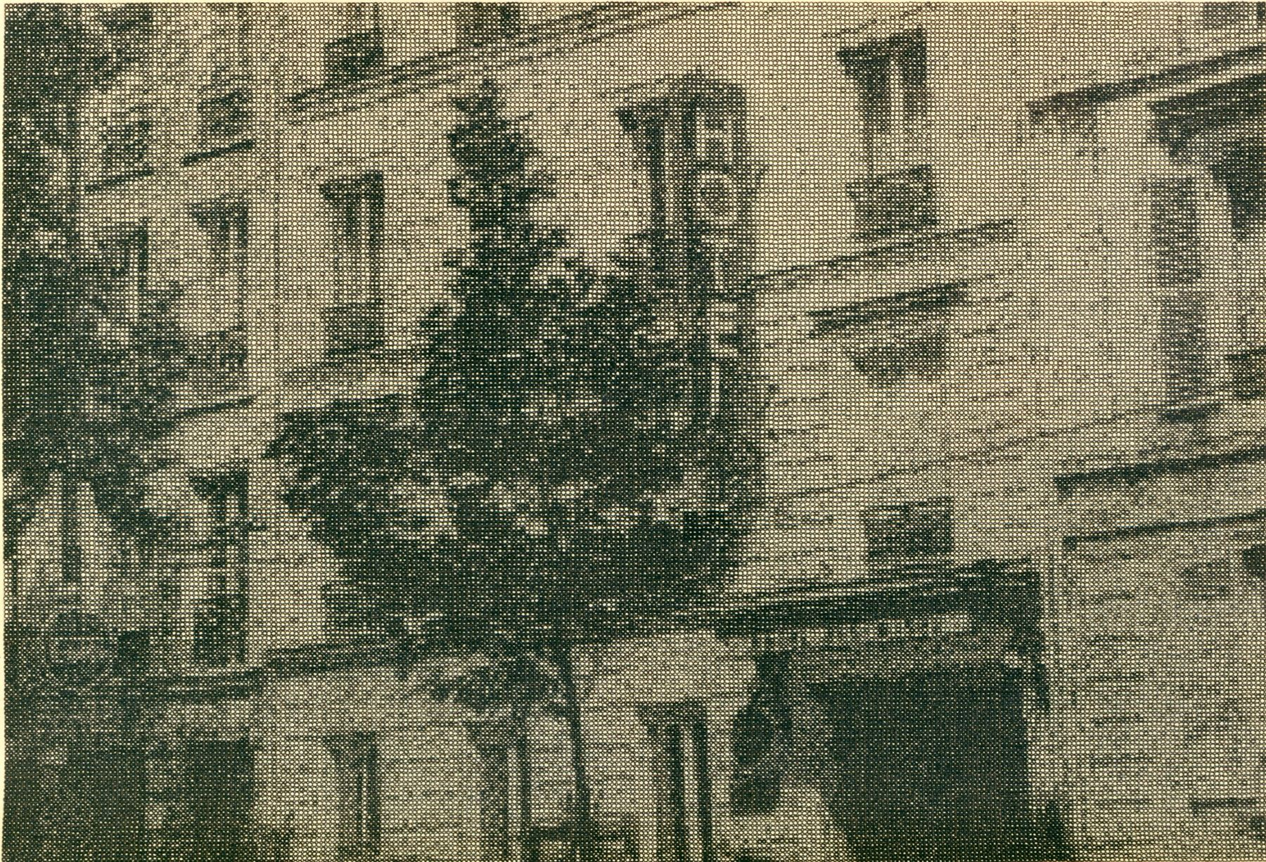 Ewan Gibbs Hotel Ink on paper