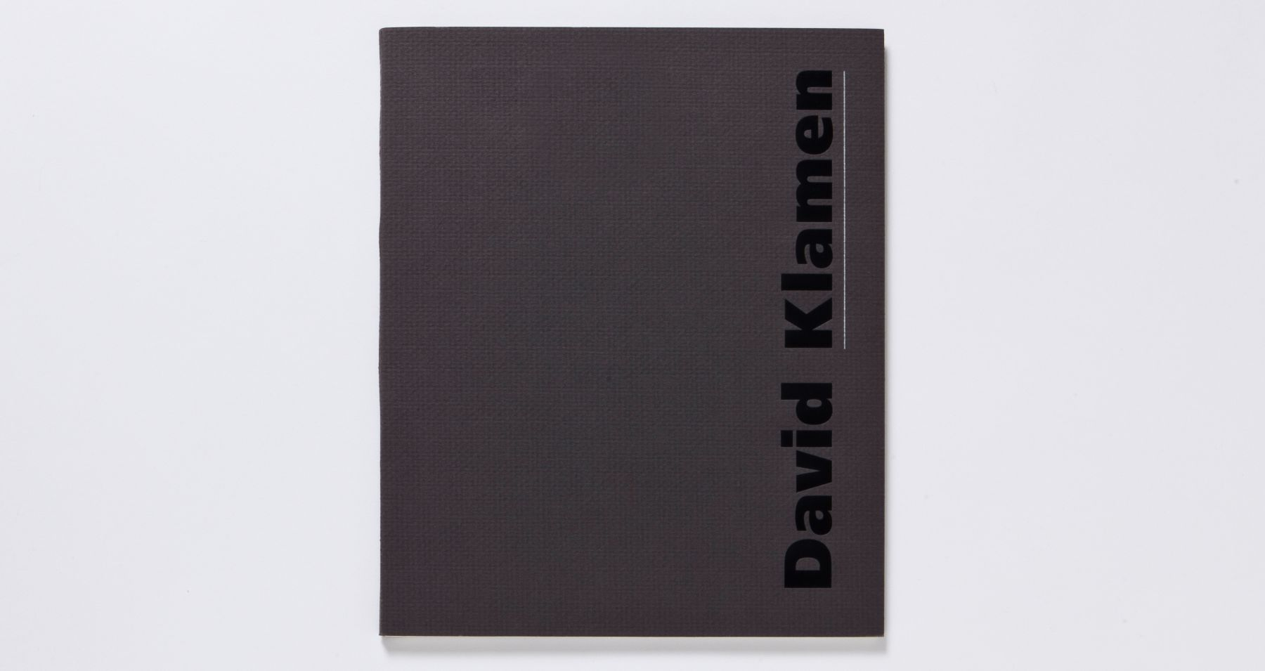 david klamen recent paintings and watercolors 2001 catalogue
