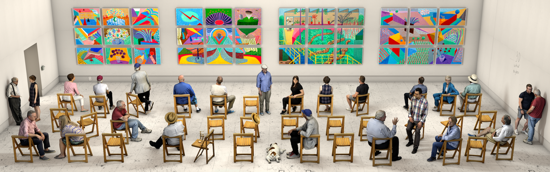 pictures at an exhibition (artwork image)